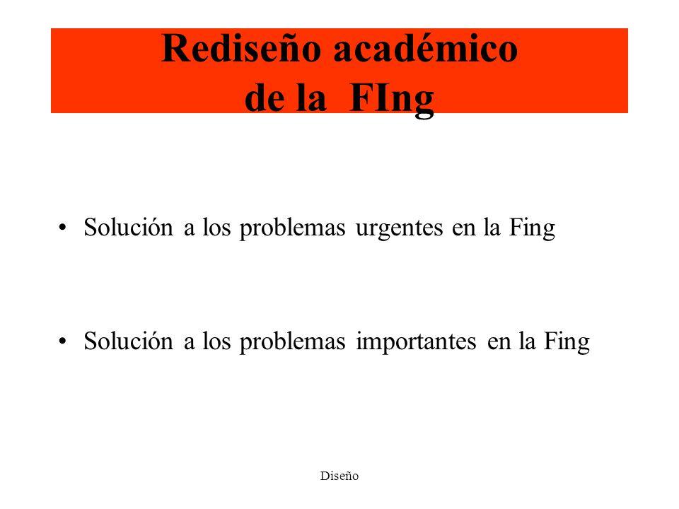 Rediseño académico de la FIng