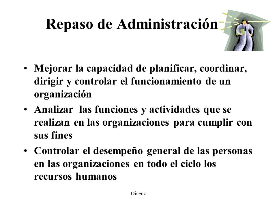 Repaso de Administración