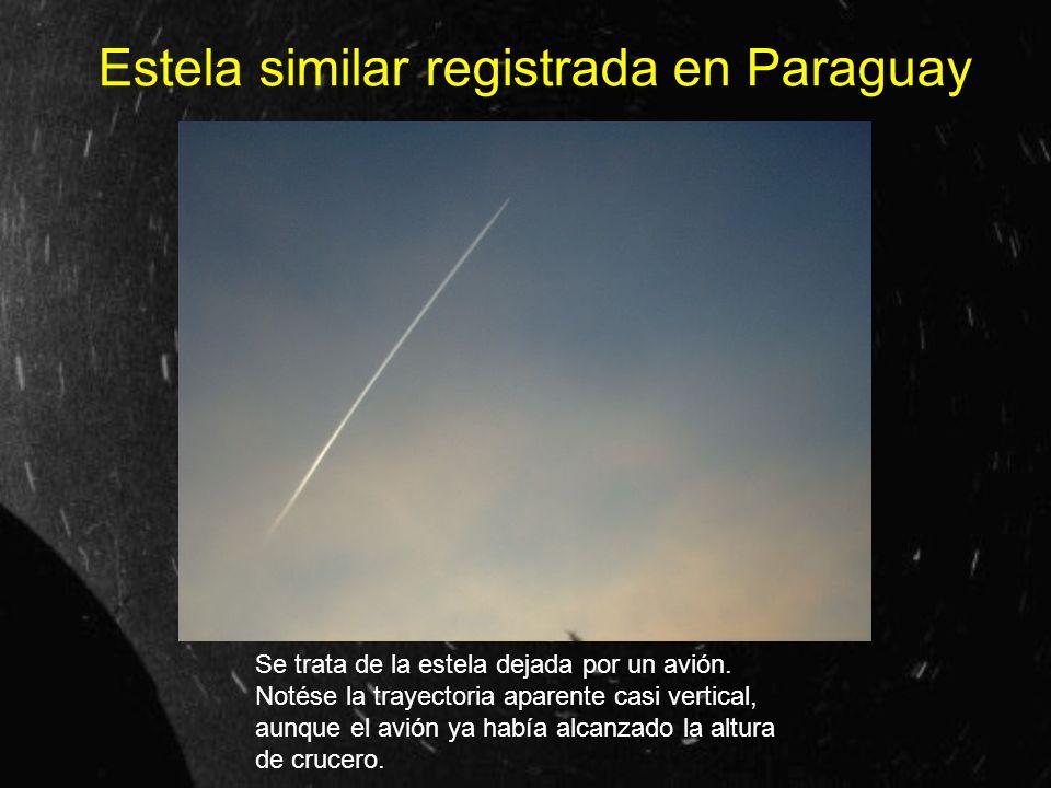 Estela similar registrada en Paraguay