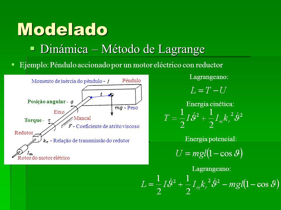 Modelado Dinámica – Método de Lagrange