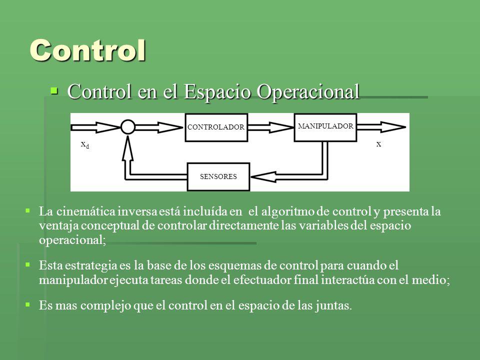 Control Control en el Espacio Operacional