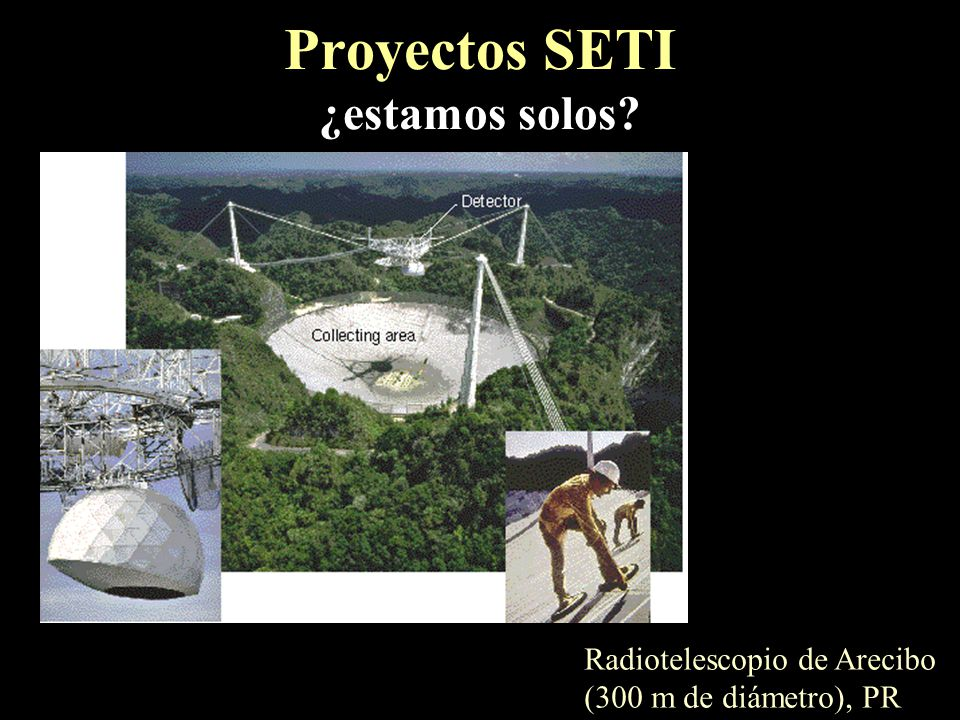 Proyectos SETI ¿estamos solos