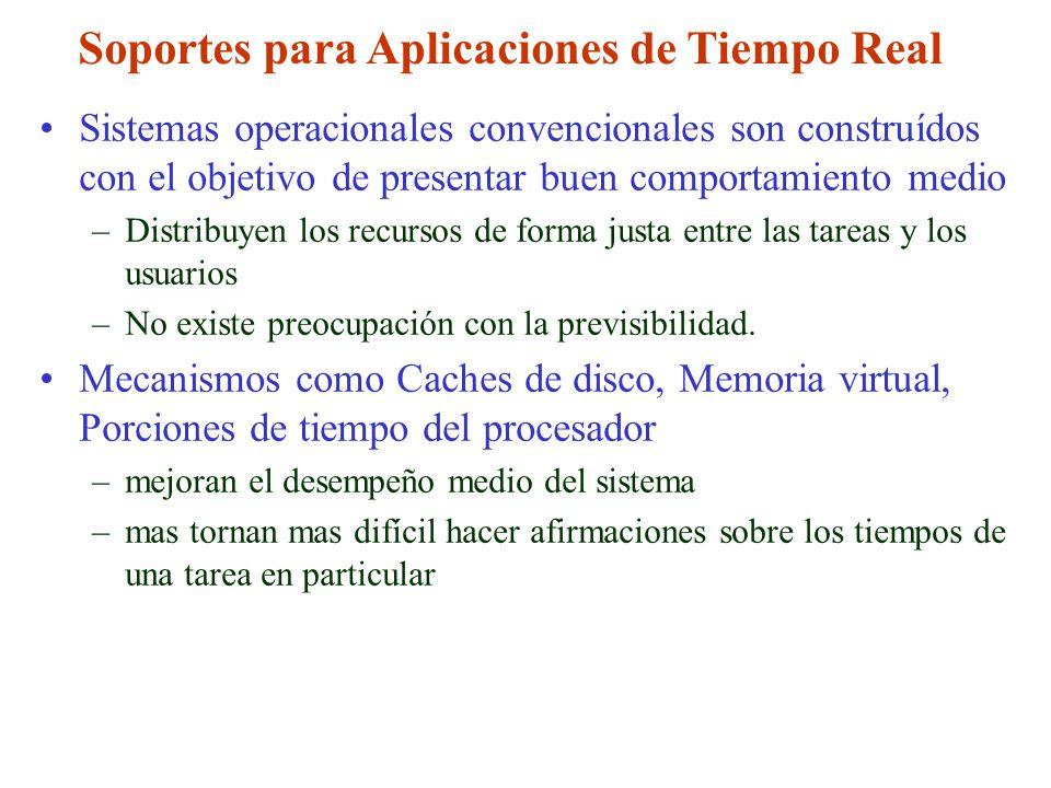 Soportes para Aplicaciones de Tiempo Real