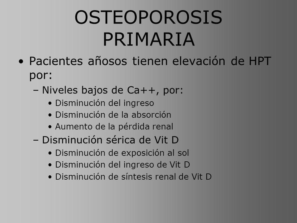 OSTEOPOROSIS PRIMARIA