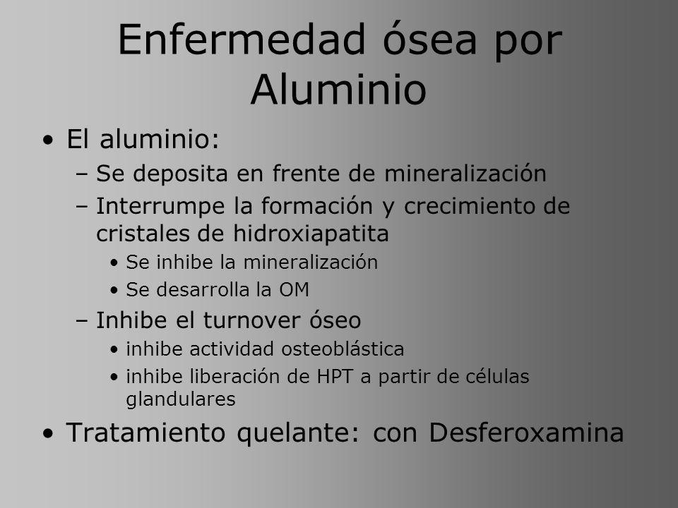Enfermedad ósea por Aluminio