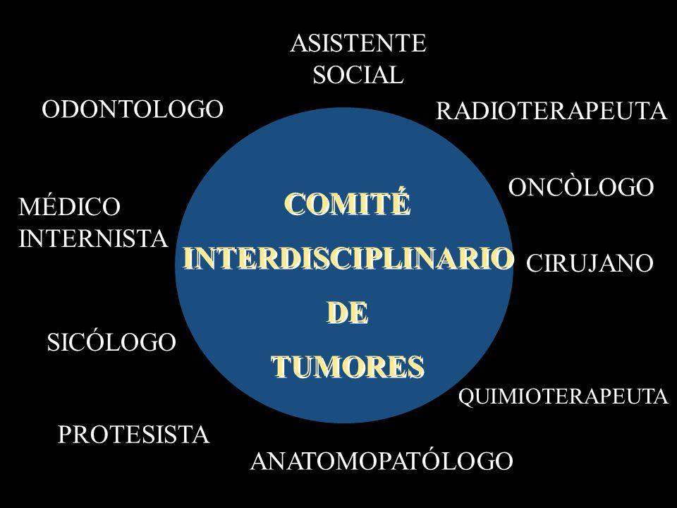 COMITÉ INTERDISCIPLINARIO DE TUMORES