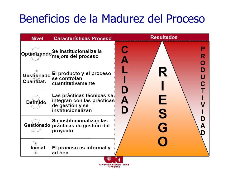 Beneficios de la Madurez del Proceso
