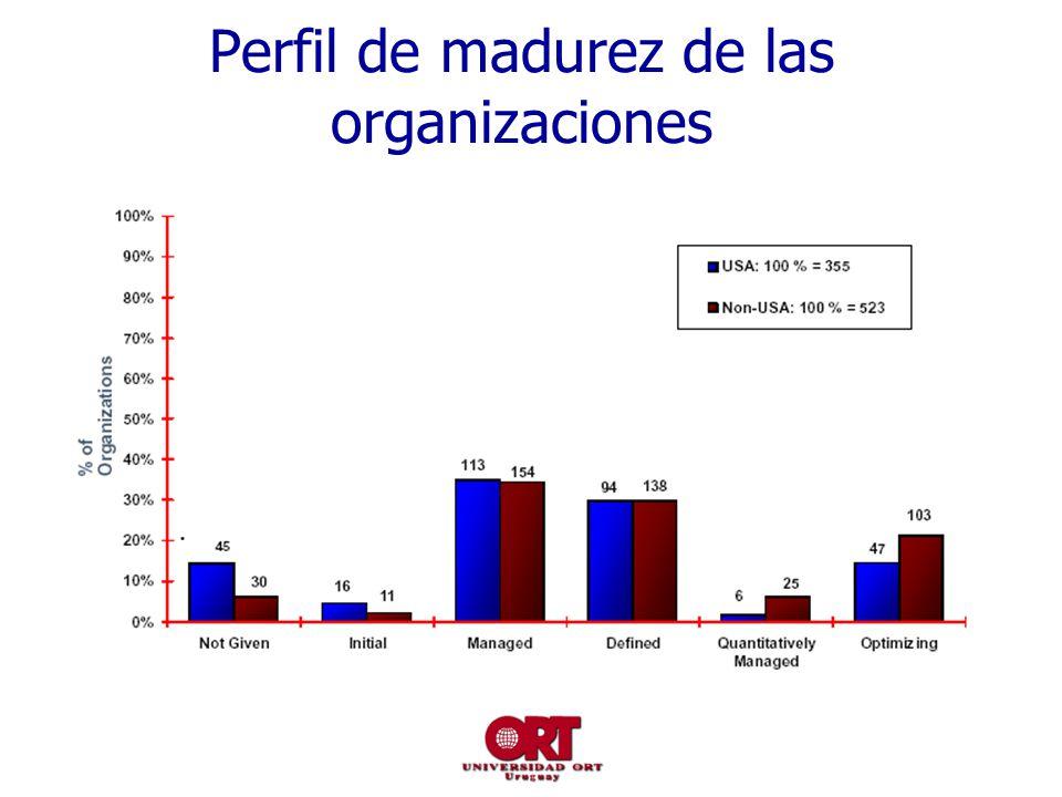 Perfil de madurez de las organizaciones