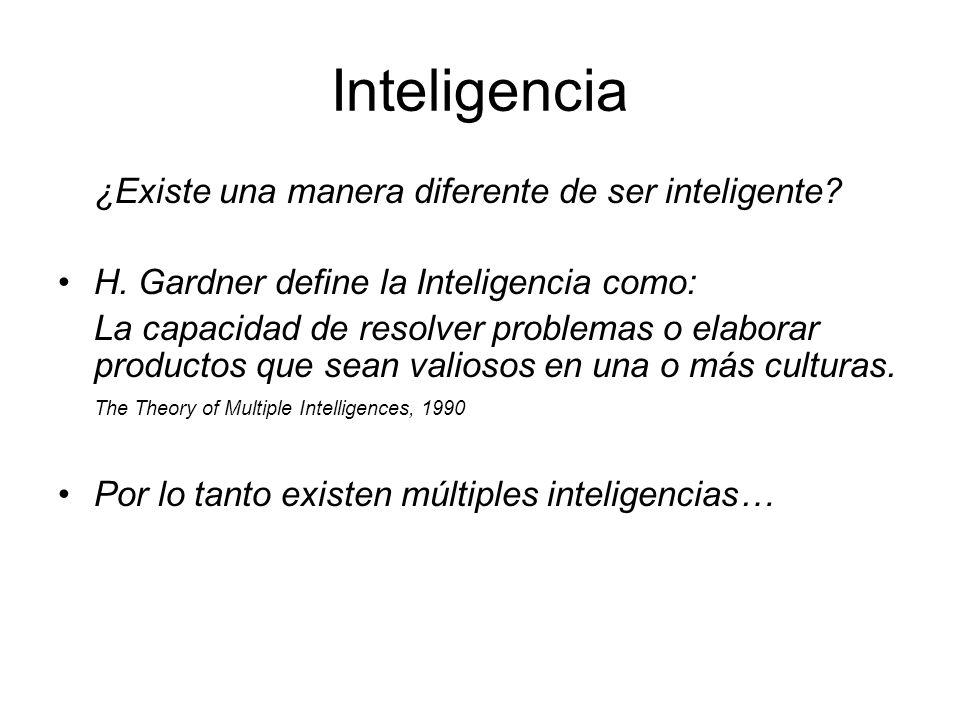 Inteligencia ¿Existe una manera diferente de ser inteligente