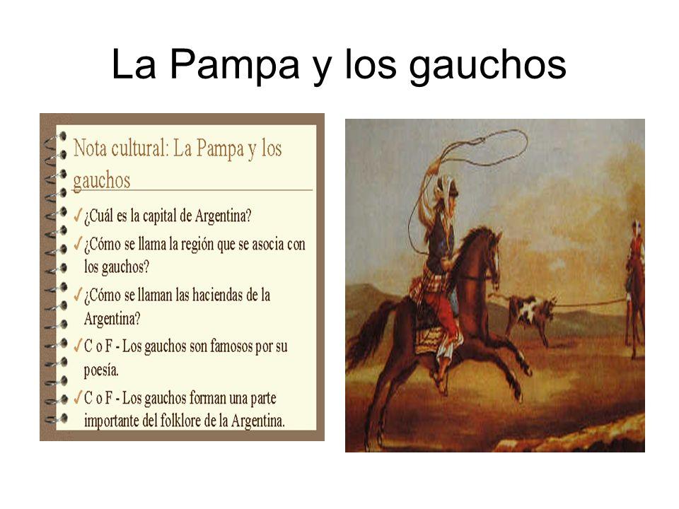 La Pampa y los gauchos