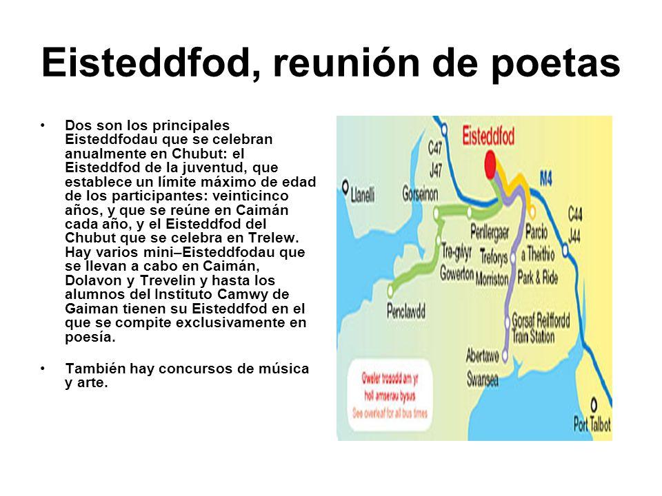 Eisteddfod, reunión de poetas