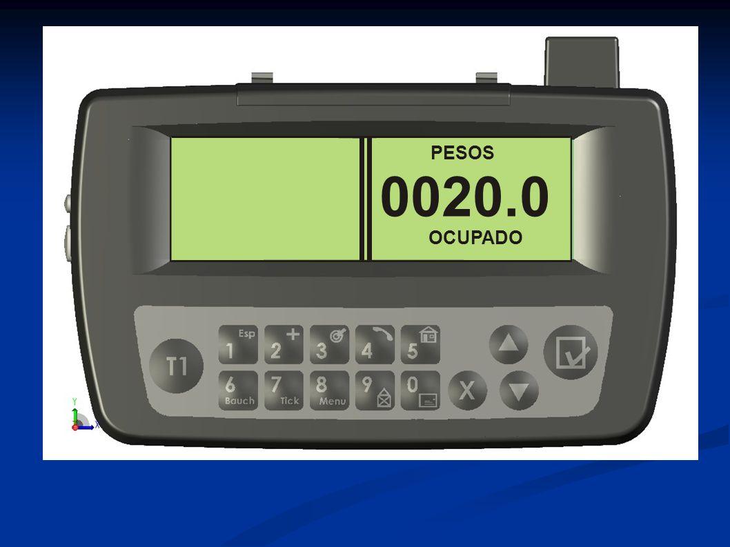 PESOS 0020.0 OCUPADO