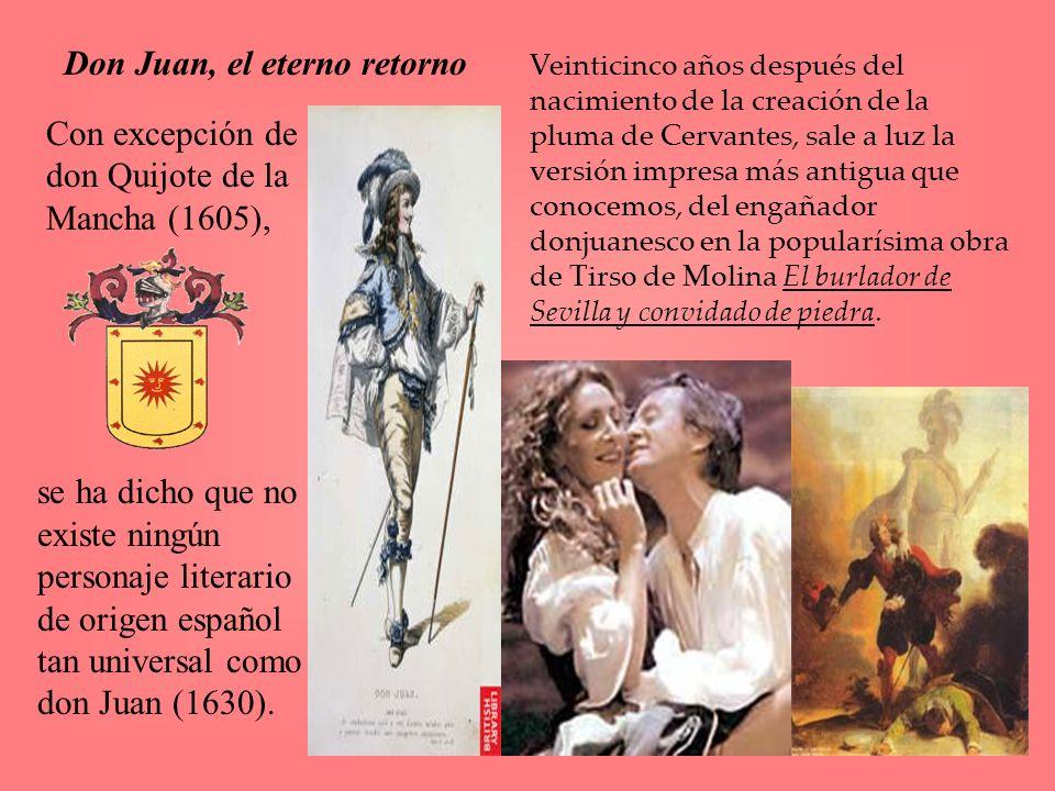 Don Juan, el eterno retorno