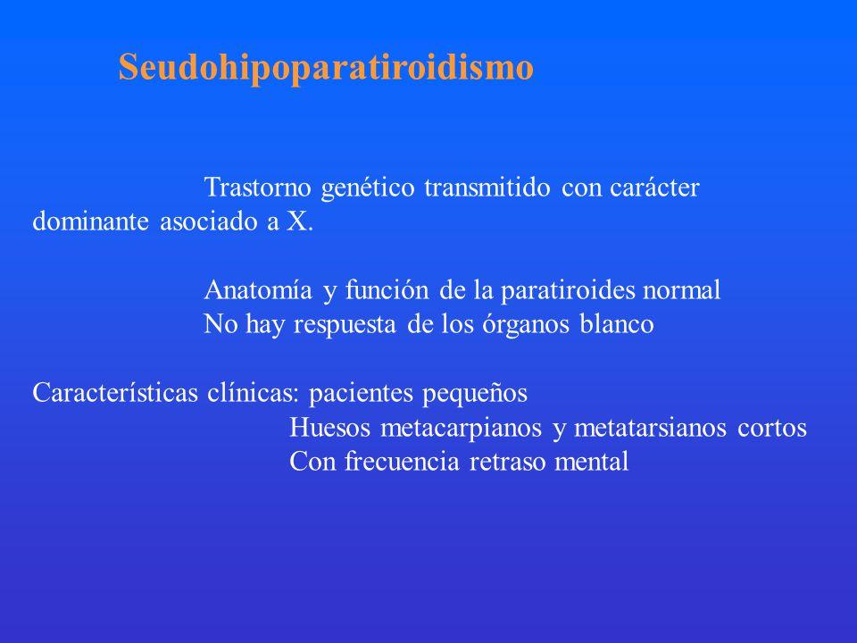 Seudohipoparatiroidismo