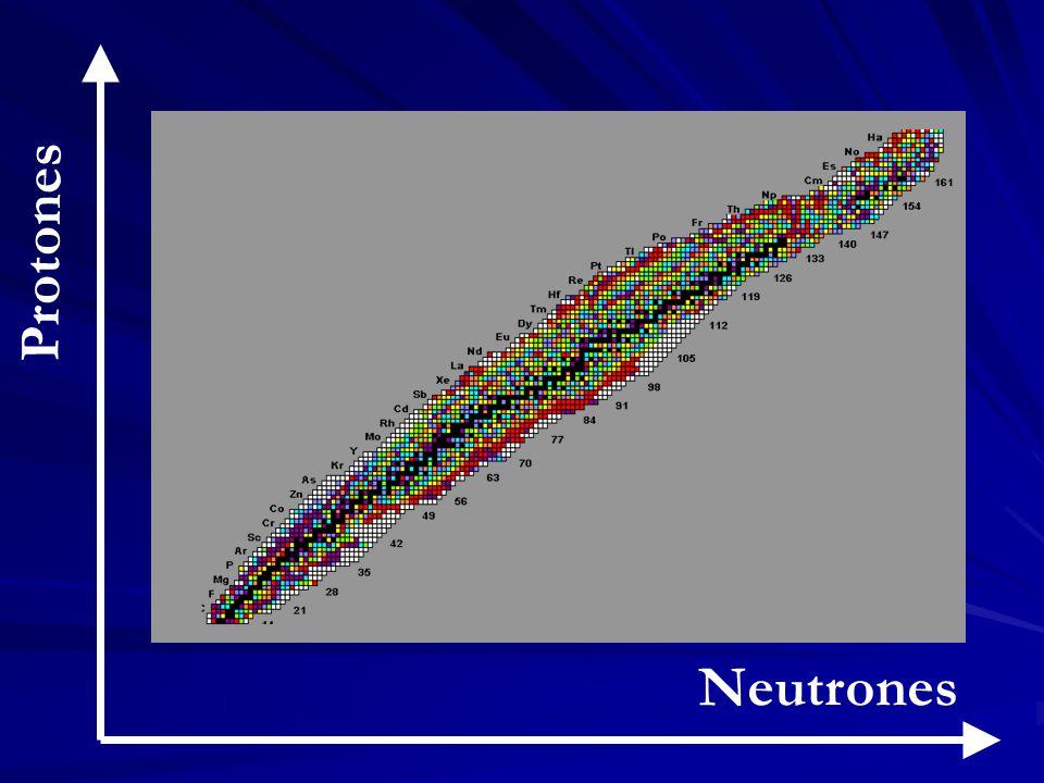 Neutrones Protones