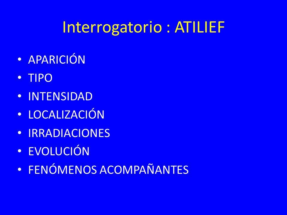 Interrogatorio : ATILIEF