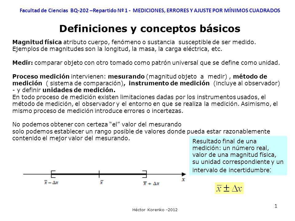 Definiciones y conceptos básicos
