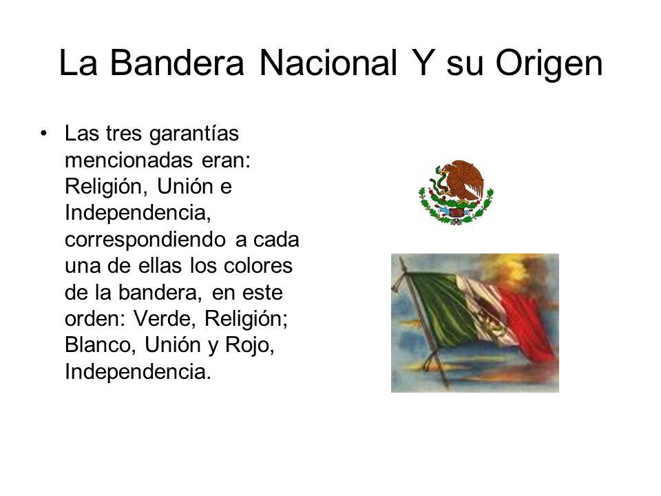 La Bandera Nacional Y su Origen