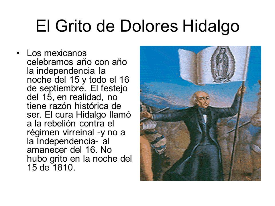 El Grito de Dolores Hidalgo