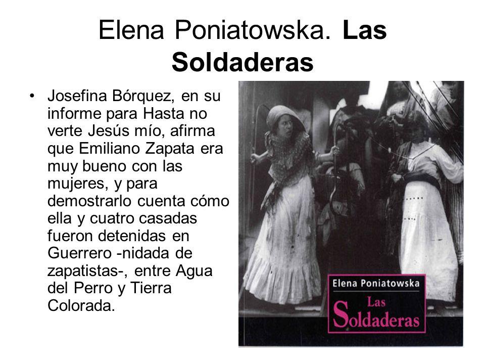 Elena Poniatowska. Las Soldaderas