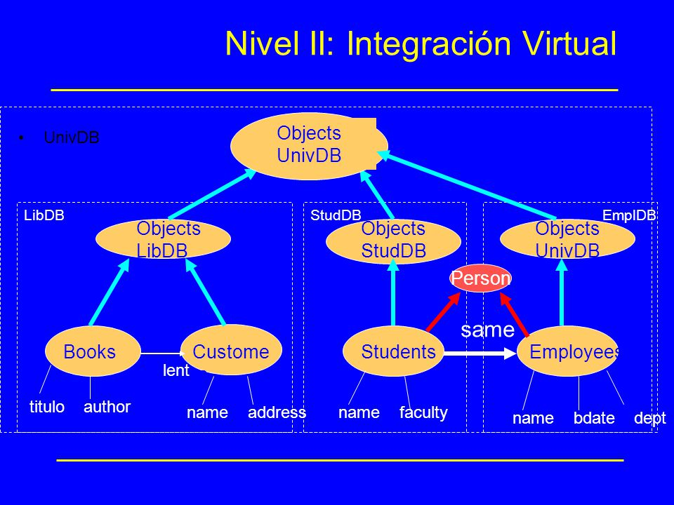 Nivel II: Integración Virtual