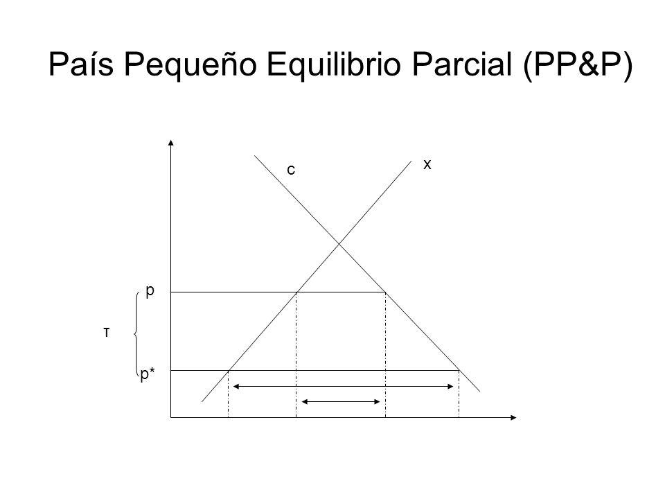 País Pequeño Equilibrio Parcial (PP&P)