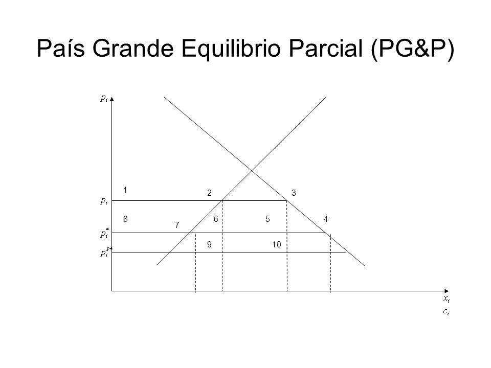 País Grande Equilibrio Parcial (PG&P)