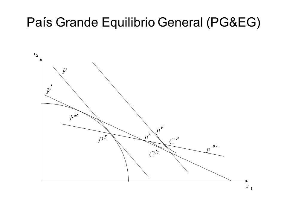 País Grande Equilibrio General (PG&EG)