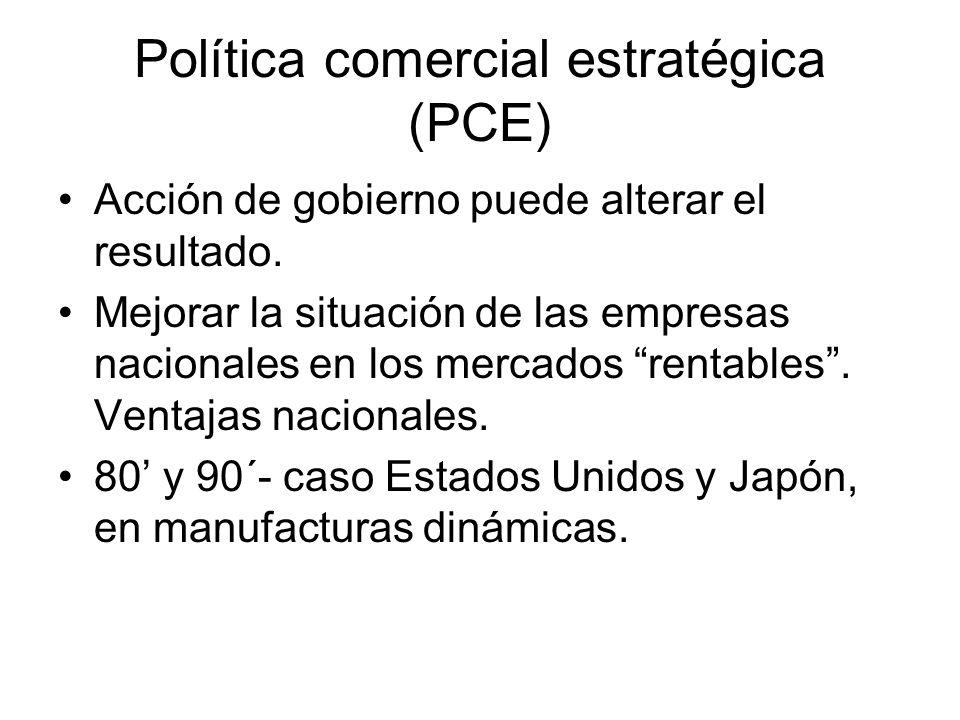 Política comercial estratégica (PCE)