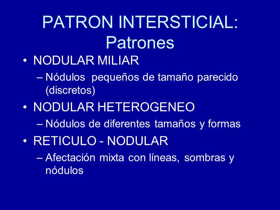 PATRON INTERSTICIAL: Patrones