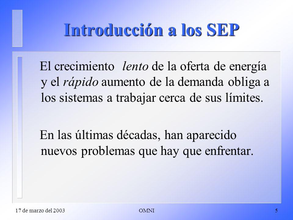 Introducción a los SEP