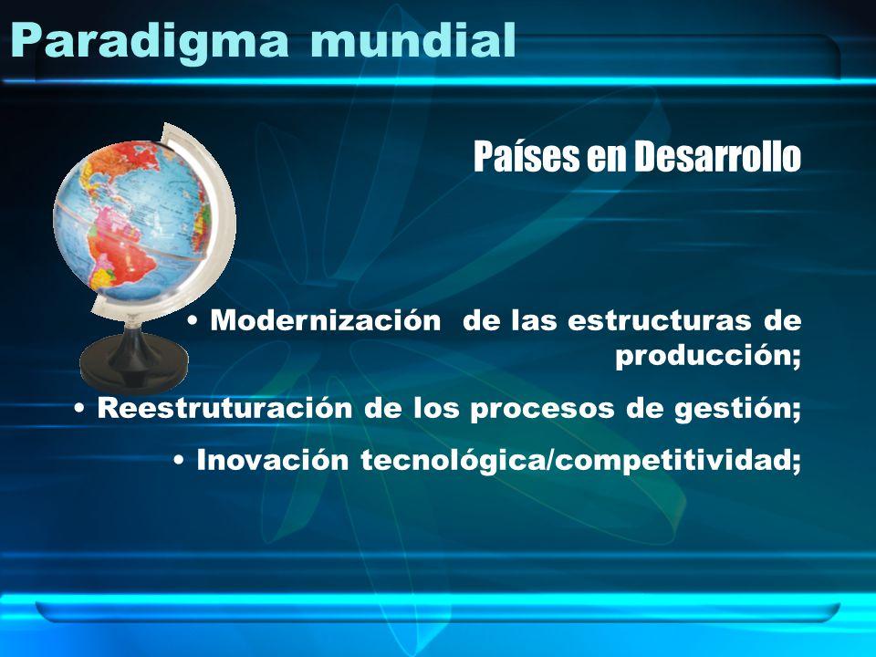 Paradigma mundial Países en Desarrollo