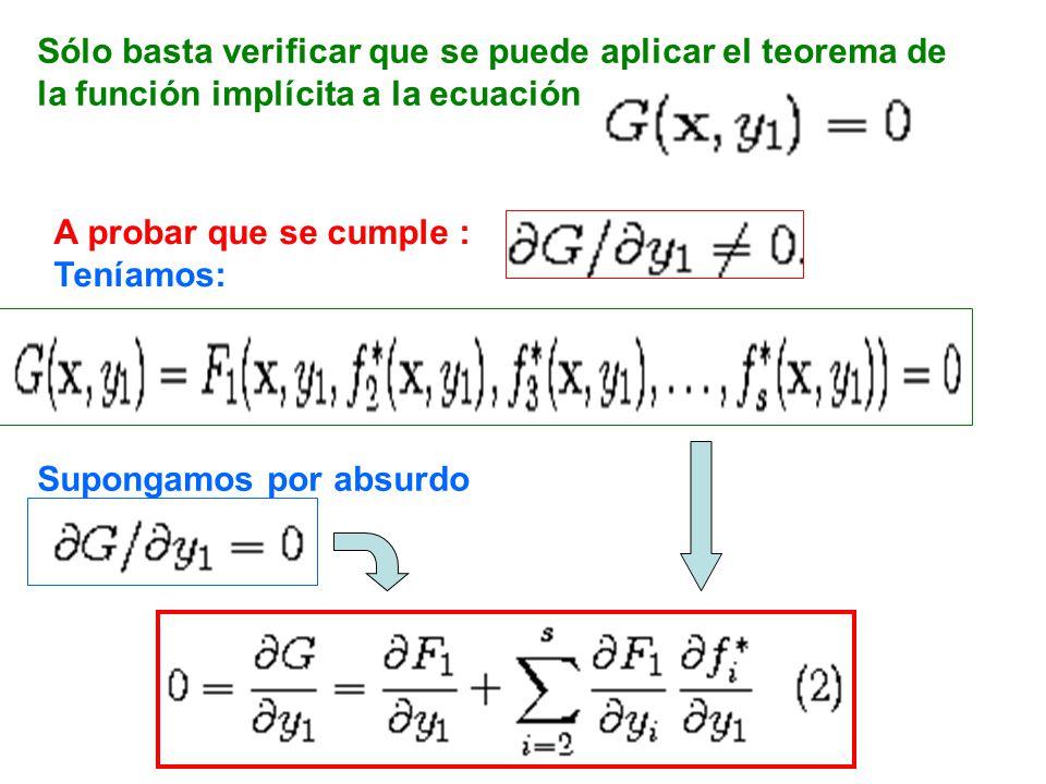 Sólo basta verificar que se puede aplicar el teorema de