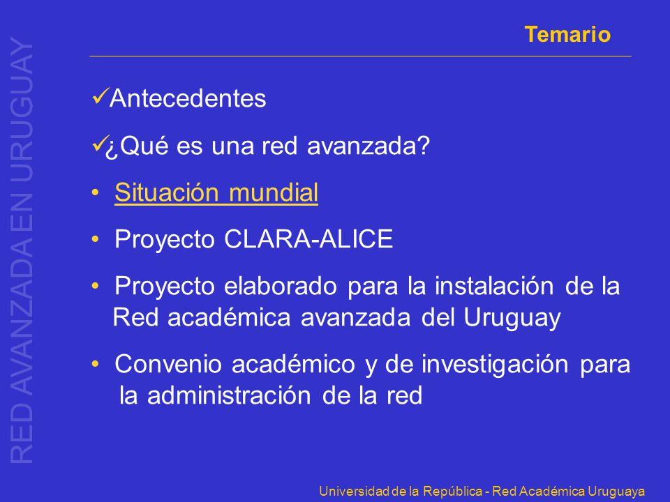 RED AVANZADA EN URUGUAY
