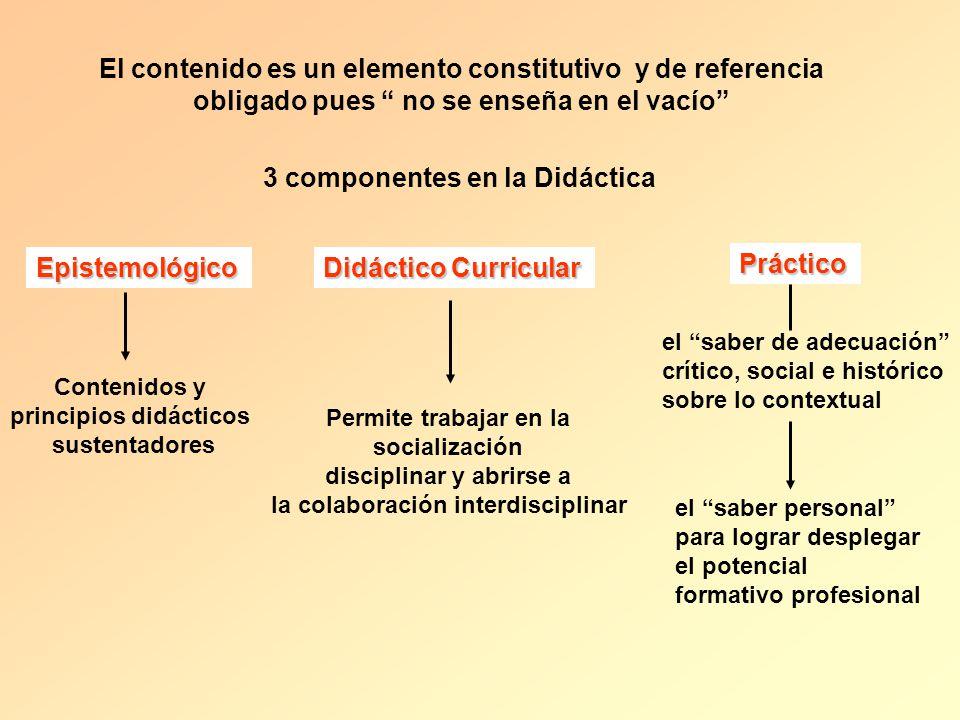 El contenido es un elemento constitutivo y de referencia