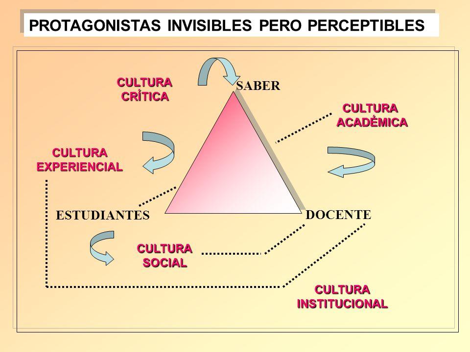 PROTAGONISTAS INVISIBLES PERO PERCEPTIBLES