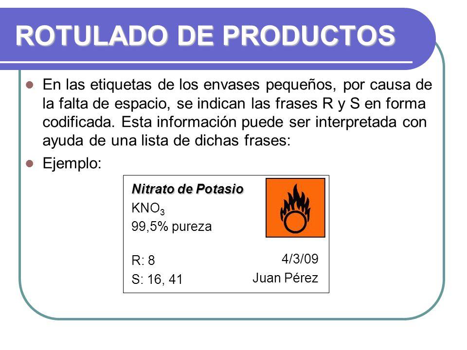 ROTULADO DE PRODUCTOS