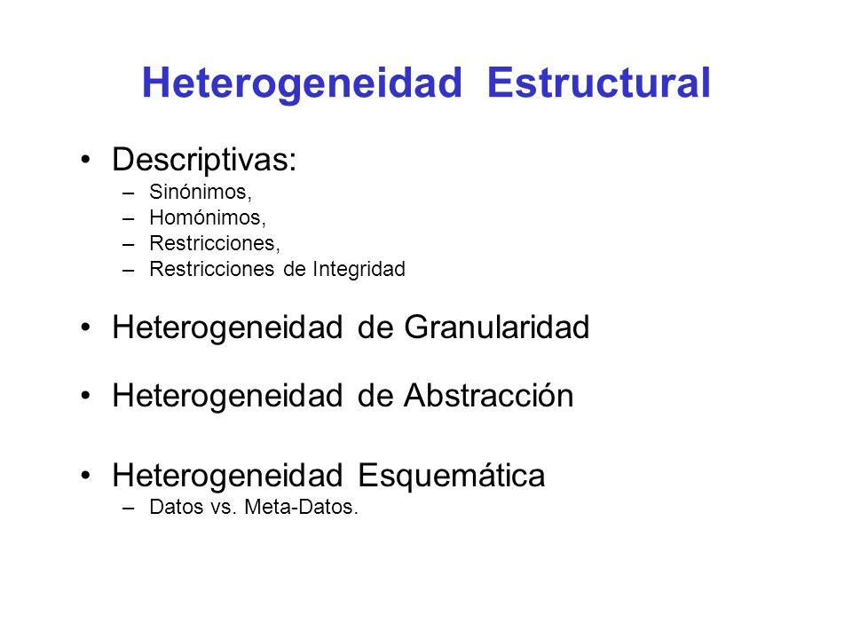 Heterogeneidad Estructural