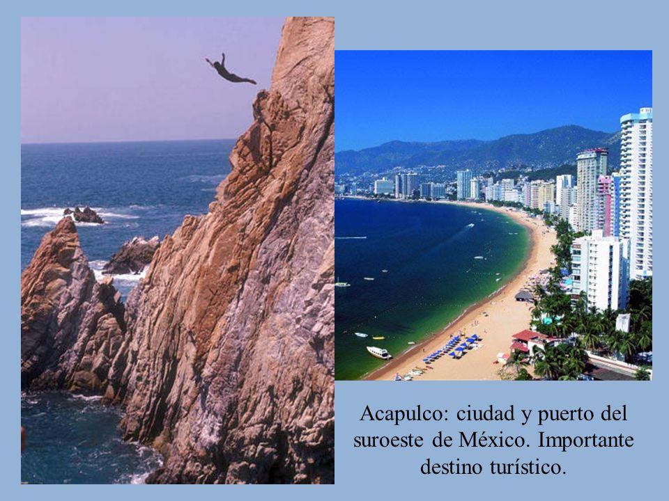 Acapulco: ciudad y puerto del suroeste de México