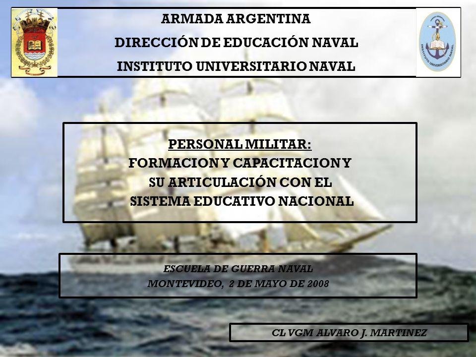 DIRECCIÓN DE EDUCACIÓN NAVAL INSTITUTO UNIVERSITARIO NAVAL