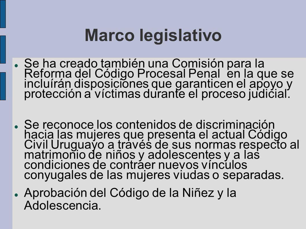 Marco legislativo