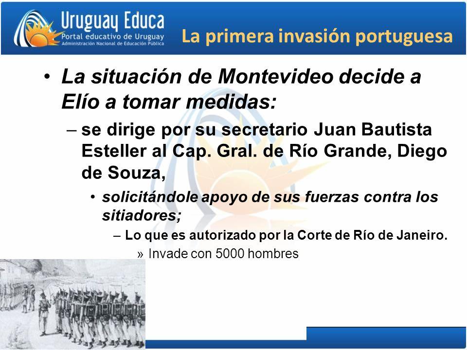 La primera invasión portuguesa