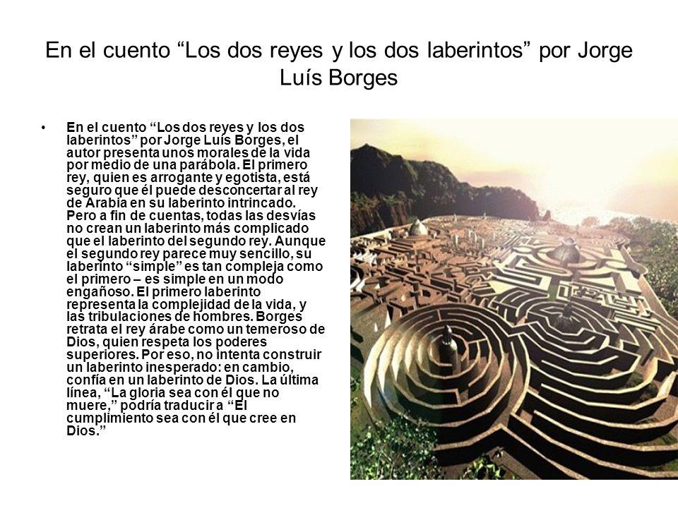 En el cuento Los dos reyes y los dos laberintos por Jorge Luís Borges