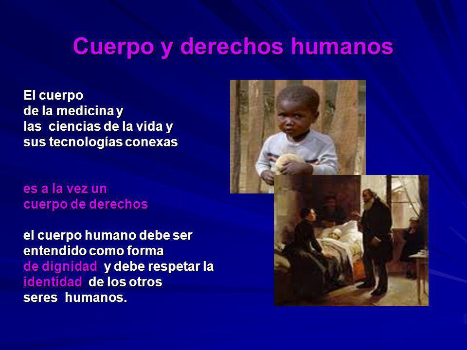 Cuerpo y derechos humanos