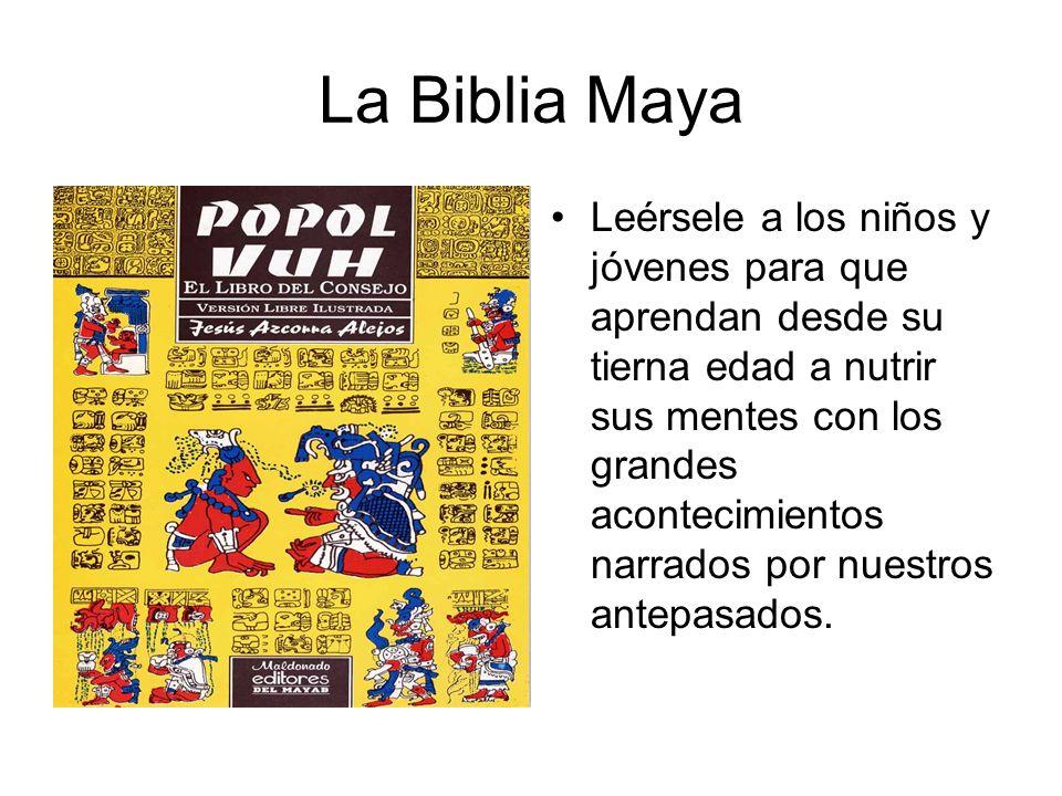 La Biblia Maya