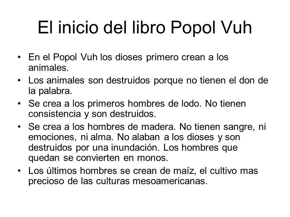 El inicio del libro Popol Vuh