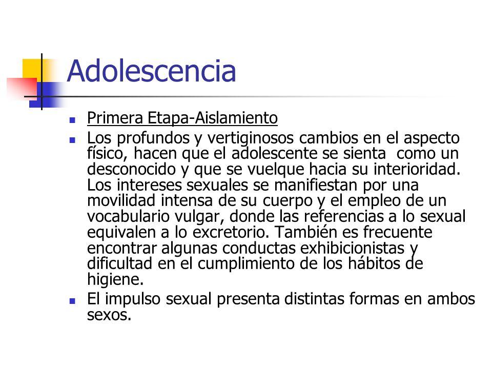 Adolescencia Primera Etapa-Aislamiento