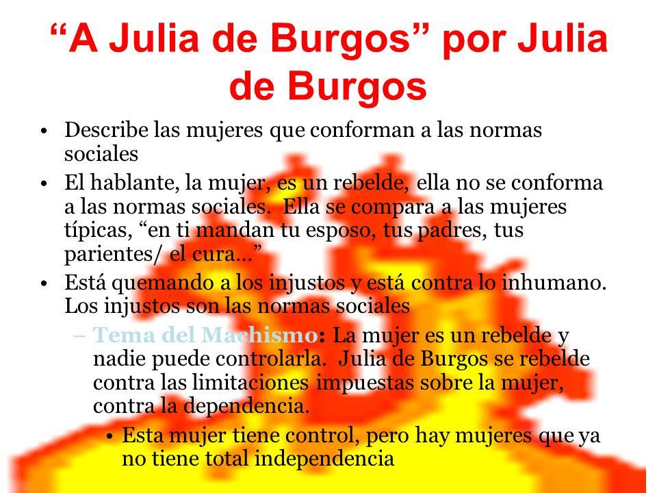 A Julia de Burgos por Julia de Burgos