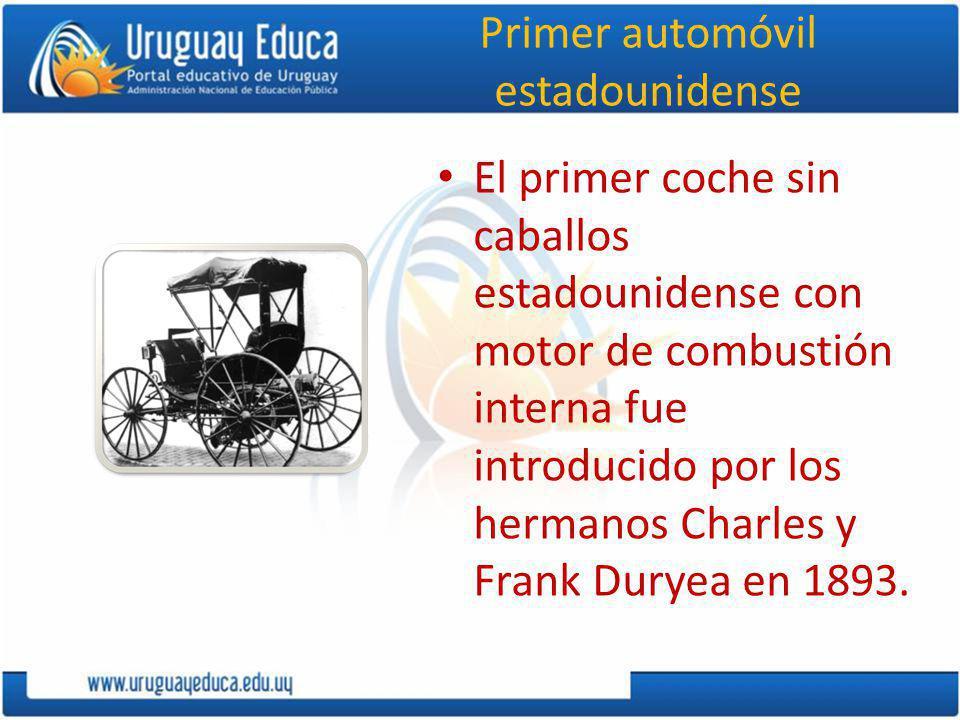Primer automóvil estadounidense
