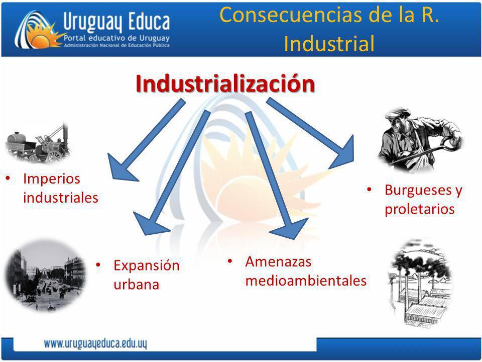 Consecuencias de la R. Industrial
